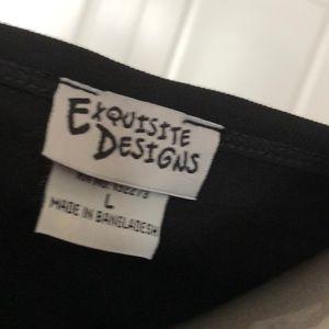 Exquisite Designs Tops - Girls Gone Wine Bling Tee